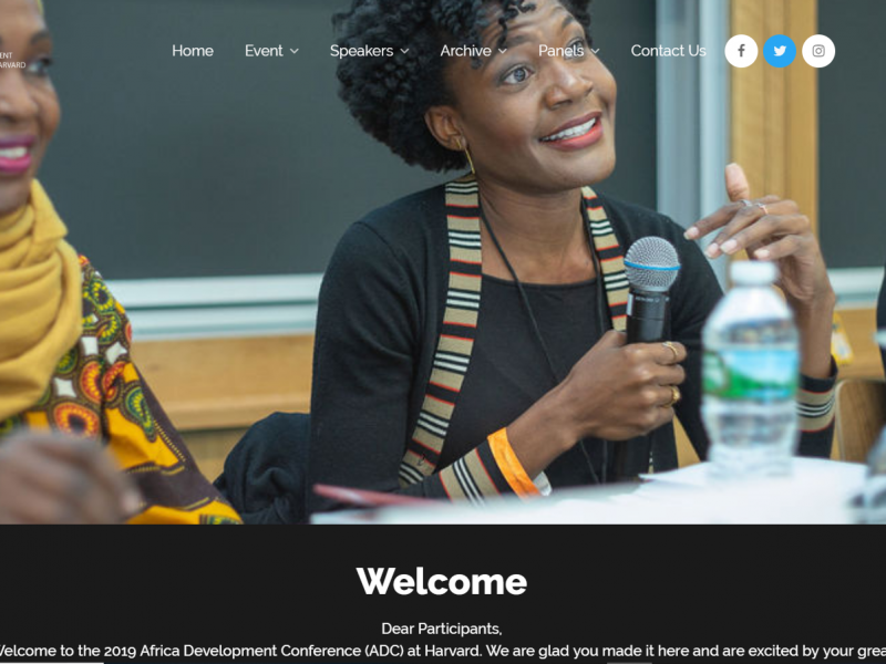 Africa Development Conference- Harvard